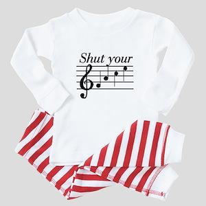 Shut your face Baby Pajamas