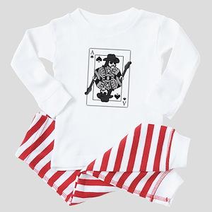 Ace of Spades Baby Pajamas