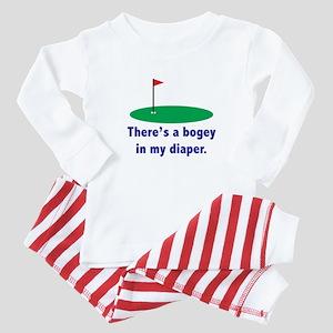 Bogey in my Diaper Baby Pajamas