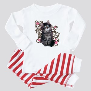Cute Kitten Kitty Cat Lover Baby Pajamas