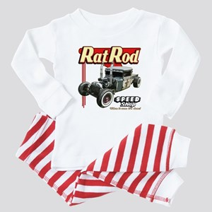 Rat Road Speed Shop - Pipes Baby Pajamas