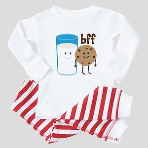 Milk & Cookies BFF Baby Pajamas