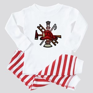 Firefighter/Rescue Tools Baby Pajamas