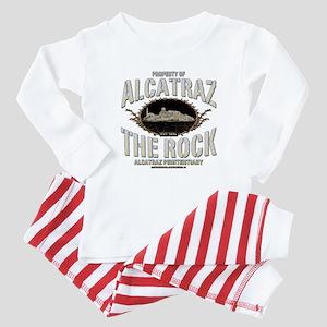 """ALCATRAZ """"THE ROCK"""" Baby Pajamas"""
