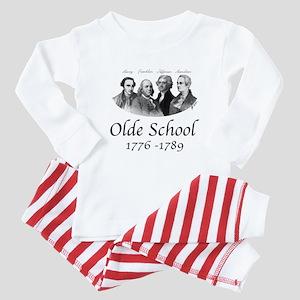 Olde School Baby Pajamas