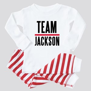 Team Jackson Baby Pajamas