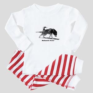 Malamute Power Baby Pajamas