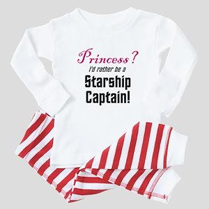 Starship Captain Baby Pajamas