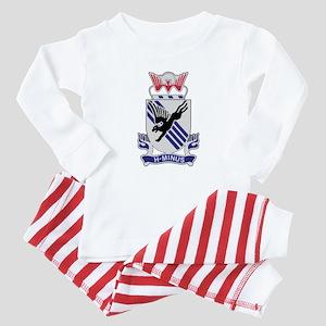 505th Airborne Infantry Regiment Baby Pajamas