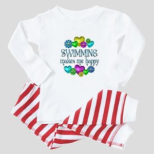 Swimming Happiness Baby Pajamas