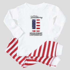 9 11 Remembering Baby Pajamas