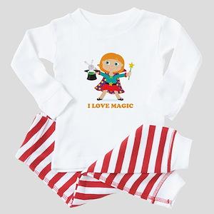 Girl Magician Baby Pajamas
