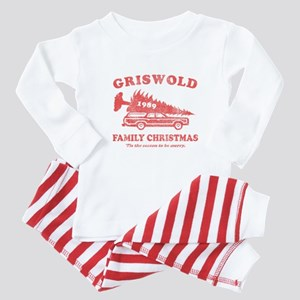 Griswold Family Christmas Baby Pajamas