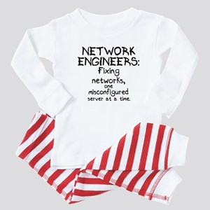 Network Engineers Baby Pajamas