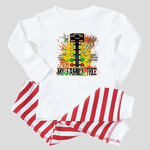 My Family Tree Baby Pajamas