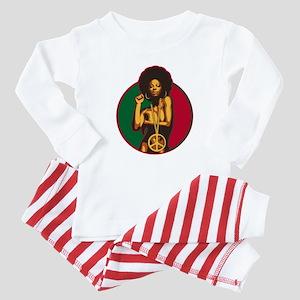 Power to the People Baby Pajamas