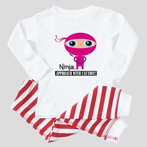 Ninja Girl Baby Pajamas