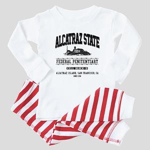 ALCATRAZ STATE Baby Pajamas