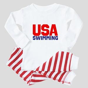 Team USA Baby Pajamas