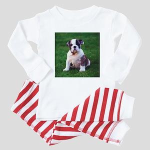 Cute Bulldog Baby Pajamas