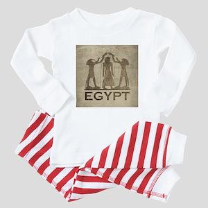 Vintage Egypt Baby Pajamas