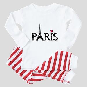 Paris Baby Pajamas