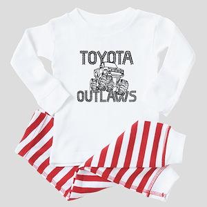 Toyota Outlaws Logo Baby Pajamas