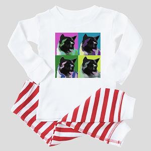Akita Pop Art Baby Pajamas