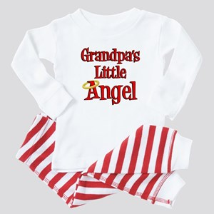 Grandpas Little Angel Baby Pajamas