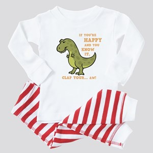 t-rex-clap-2-DKT Baby Pajamas