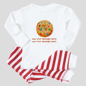 Personalize It, Chocolate Cookie Baby Pajamas