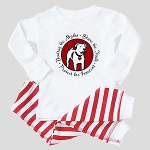 Response-a-Bull Rescue Logo Baby Pajamas