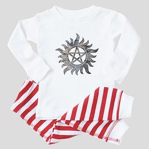 Supernatural Symbol Baby Pajamas