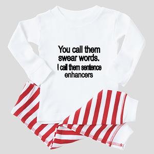 You call them swear words Baby Pajamas