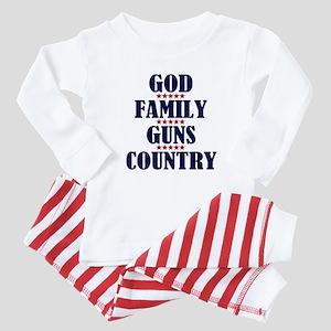 Gun Control Baby Pajamas