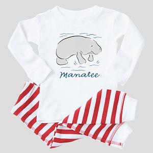 Manatee Baby Pajamas