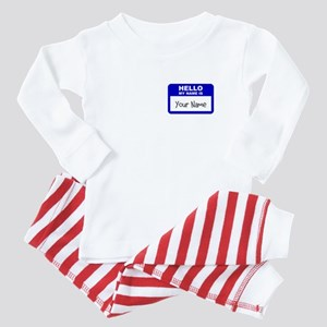 HELLO MY NAME IS... Baby Pajamas