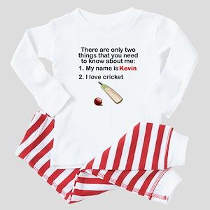 Two Things Cricket Baby Pajamas