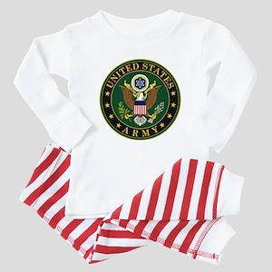 U.S. Army Symbol Baby Pajamas