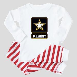 U.S. Army Gold Star Logo Baby Pajamas