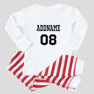 Custom Sports Theme Baby Pajamas