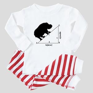Hippotenuse Baby Pajamas