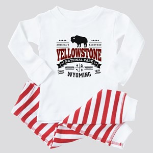 Yellowstone Vintage Baby Pajamas