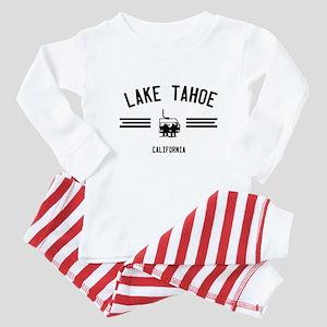 Lake Tahoe California Baby Pajamas