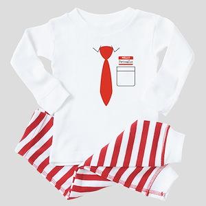 Custom Name Tag Baby Pajamas