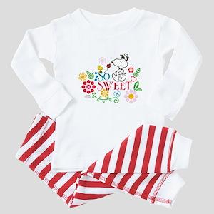 So Sweet - Snoopy Baby Pajamas