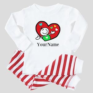 Happy Heart (p) Baby Pajamas