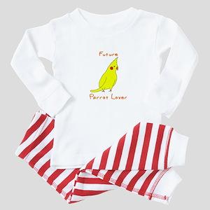 Future Parrot Lover Baby Pajamas