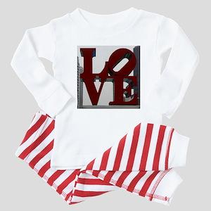 LOVE Baby Pajamas
