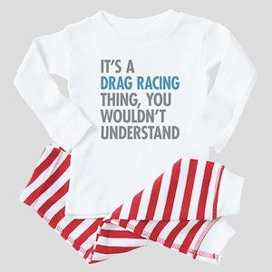 Drag Racing Thing Baby Pajamas